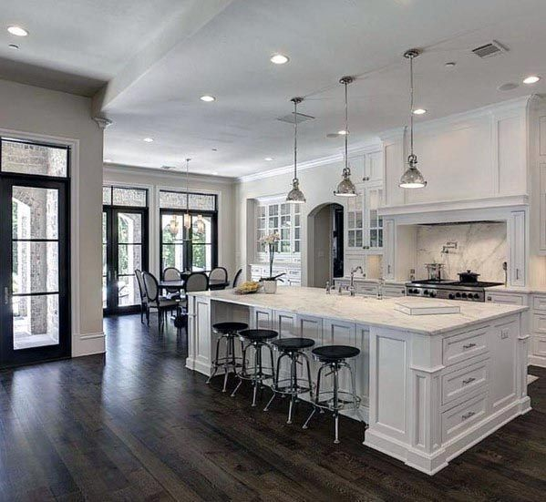 Photo of Top 60 Best White Kitchen Ideas – Clean Interior Designs