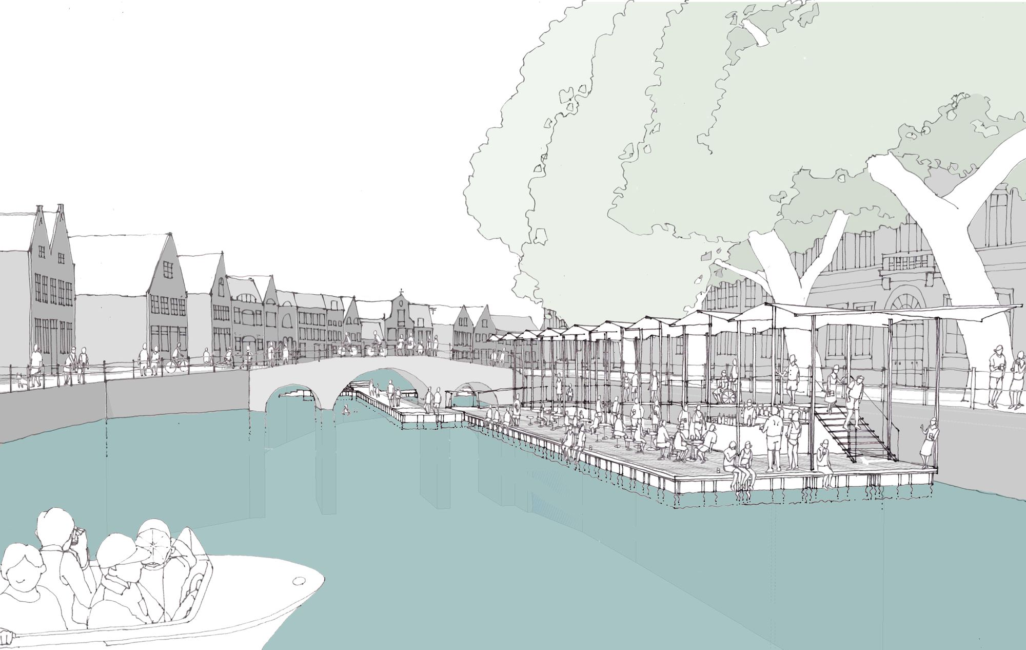 Image 23 of 24 from gallery of Canal Swimmer's Club / Atelier Bow-Wow + Architectuuratelier Dertien 12. Sketch