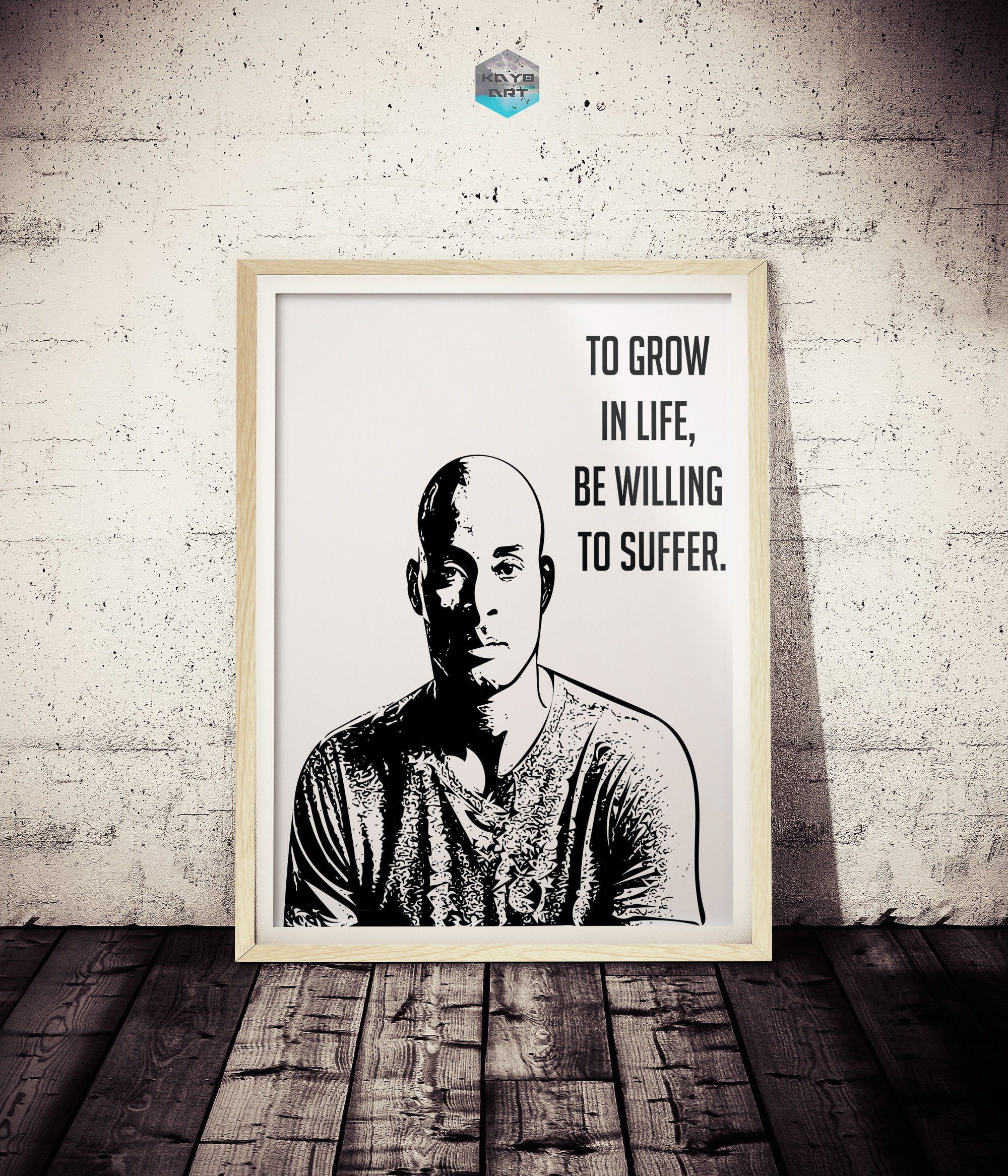 David Goggins Original Art Print Suffer Navy Seal David Giggins Gym Motivation Inspirational Art Poster Black An Original Art Art Prints Art Inspiration