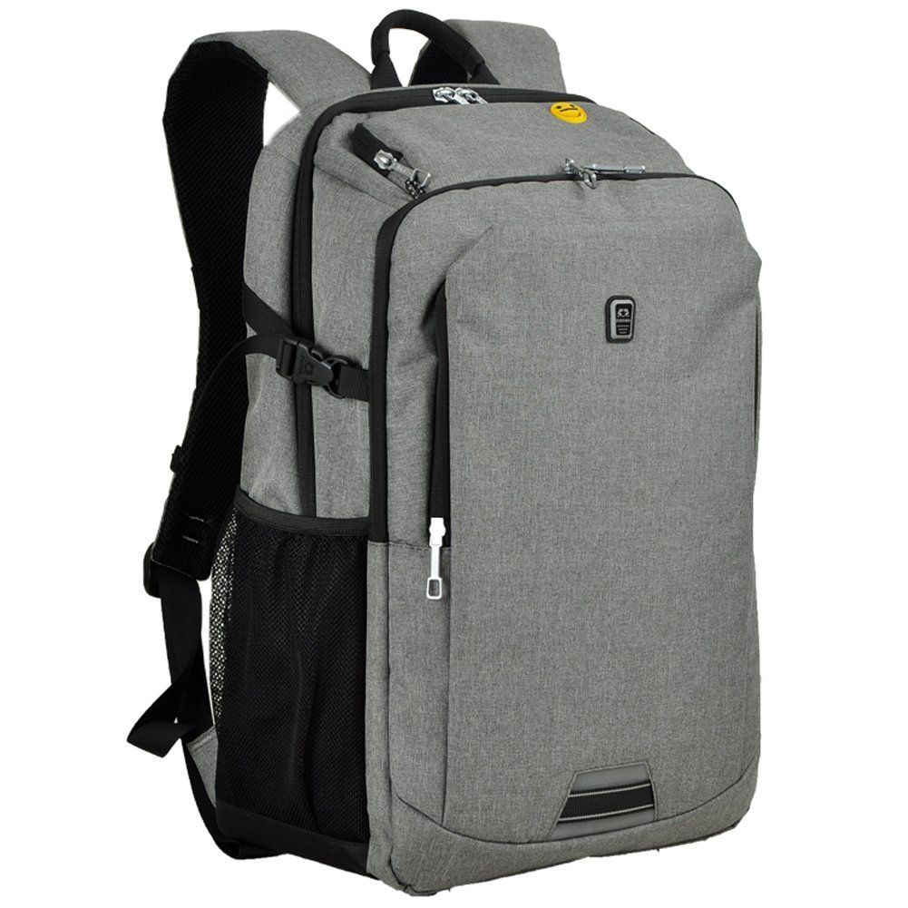 608a4be4e030 Amazon.com  Koolerpek Waterproof Business Backpack for Laptop Up to 17 inch  Grey  Computers   Accessories