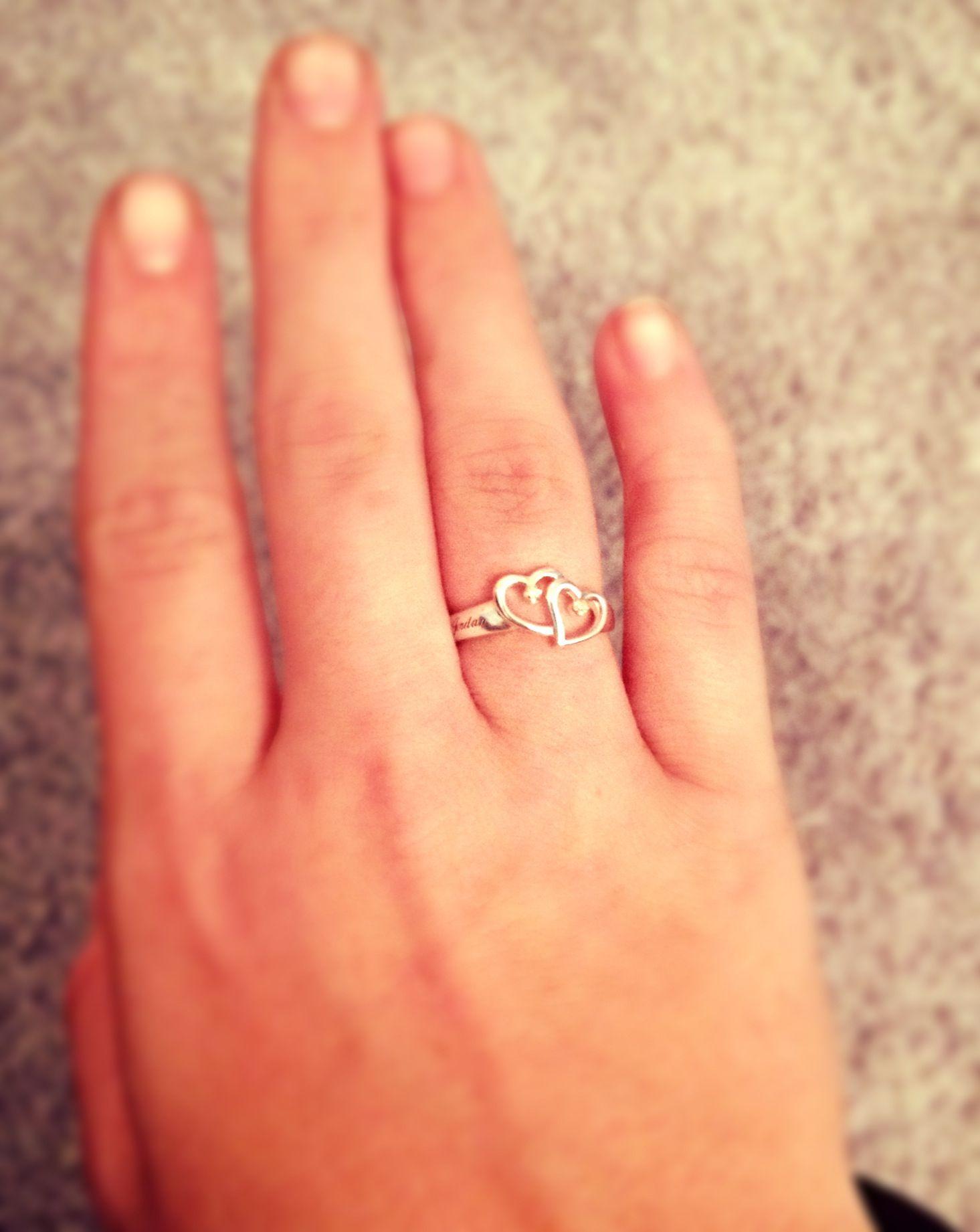 Promise ring wedding pinterest heart robert riuchard and