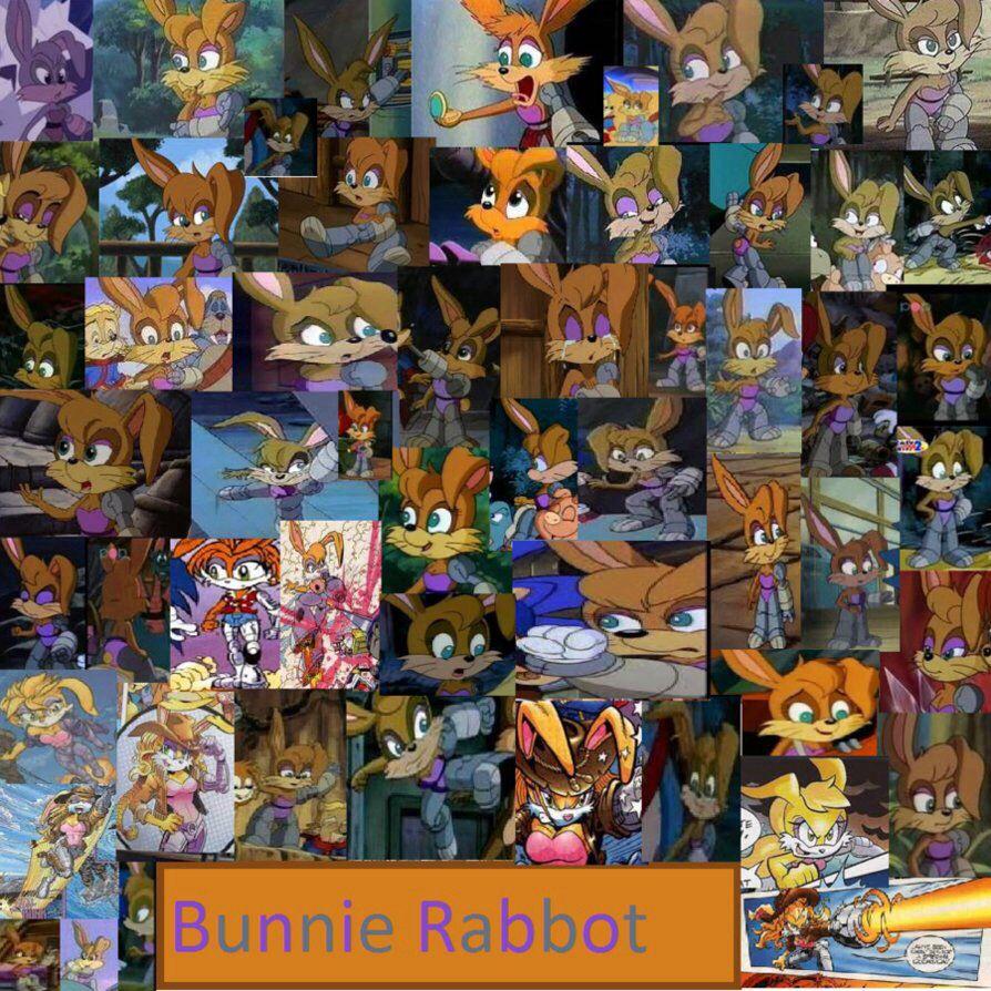 bunnie rabbot for sonic satam sonic the hedgehog sonic satam