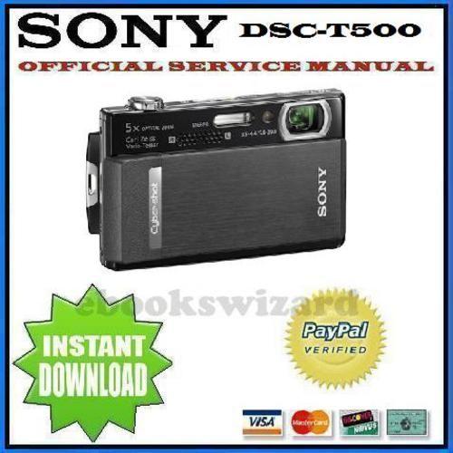 sony cyber shot dsc t500 service repair manual download other rh pinterest com sony cyber-shot dsc-h50 manual pdf sony cyber shot dsc h50 service & repair manual