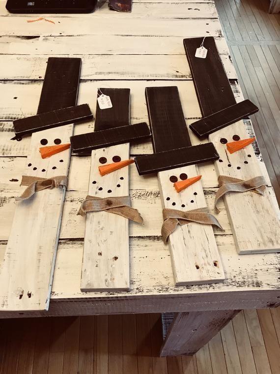 Pallet Schneemann #woodcrafts