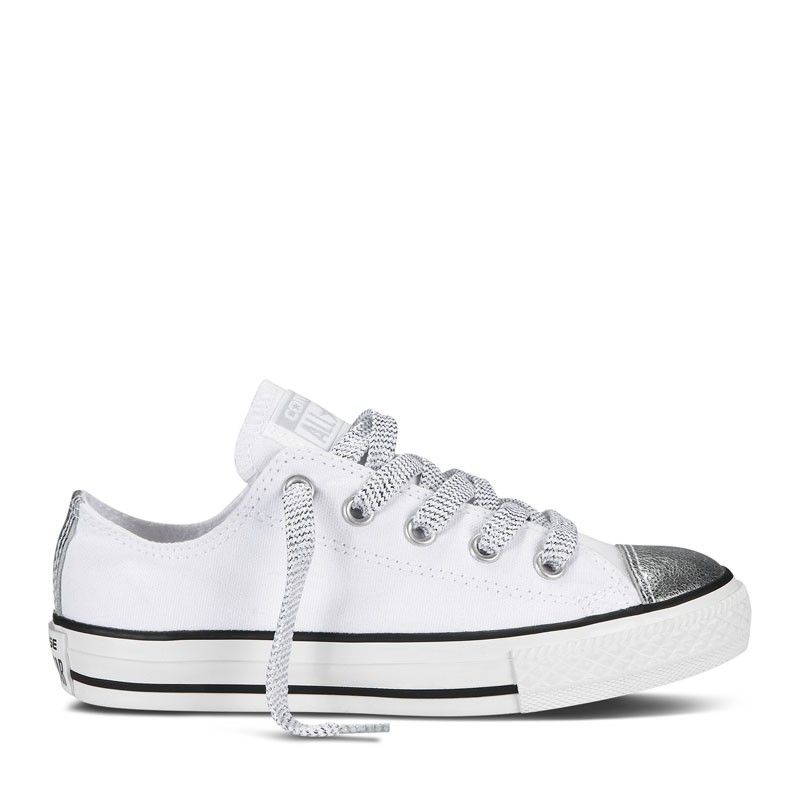 Converse KIDS All Star Rock Laag Canvas - Wit | SS14