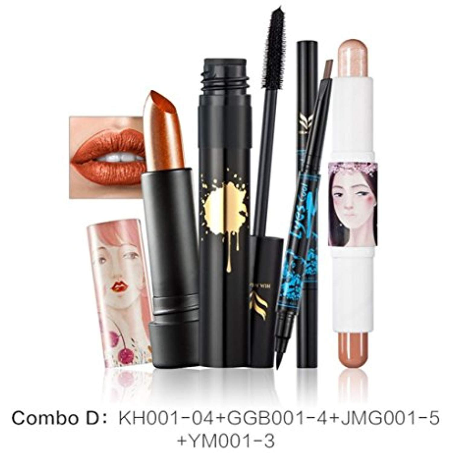 Charming Cosmetic Set, Lotus.flower 4 In 1 Makeup Kit
