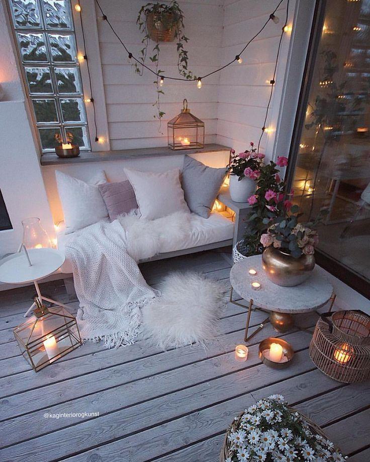 Dieser Balkon ist ein TRAUM ?✨✨✨ # faye #fayejewelry #jewely - Shannon Smith #dekorationwohnung