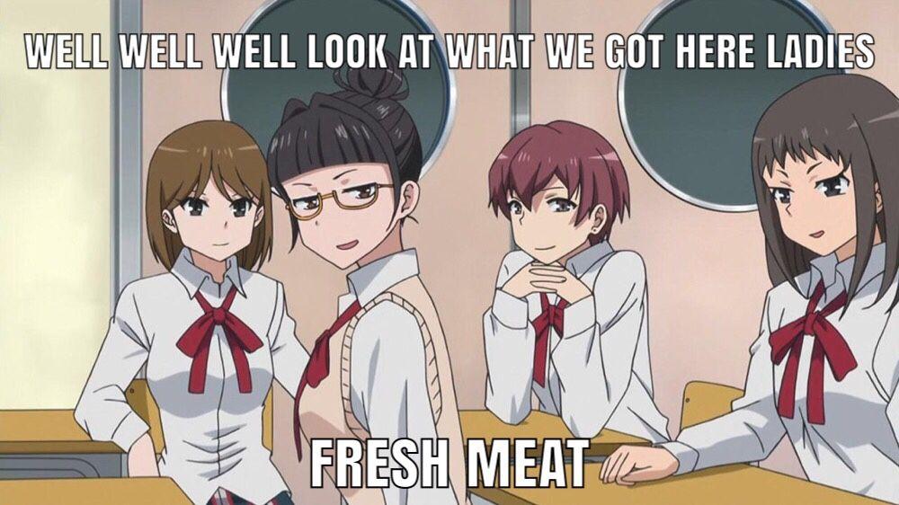 Can anyone relate anime funny anime anime memes