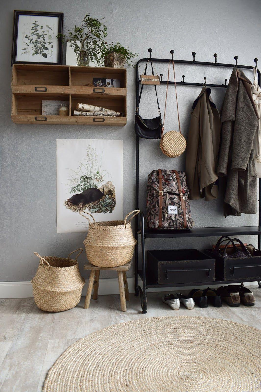 Garderobe Ideen Fur Flur Einrichtung Dekoidee Praktisch