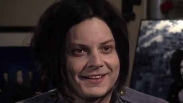 """Jack White on """"The Colbert Report"""" — White had an unorthodox interview with Colbert, then performed """"Freedom at 21""""."""