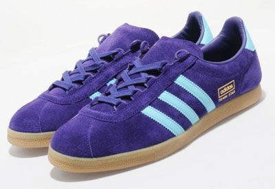 1970s Adidas Trimm Star trainers get a Size? exclusive reissue in purple suede