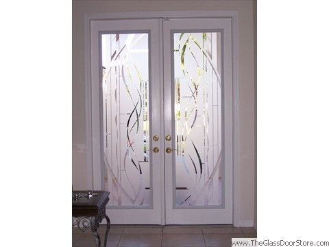 Etched Glass Doors Tampa Diy Etched Glass Door