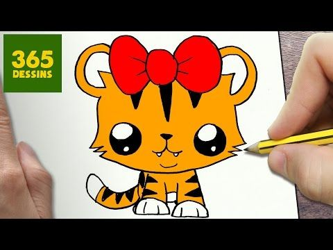 Comment Dessiner Chat Kawaii Etape Par Etape Dessins Kawaii Facile