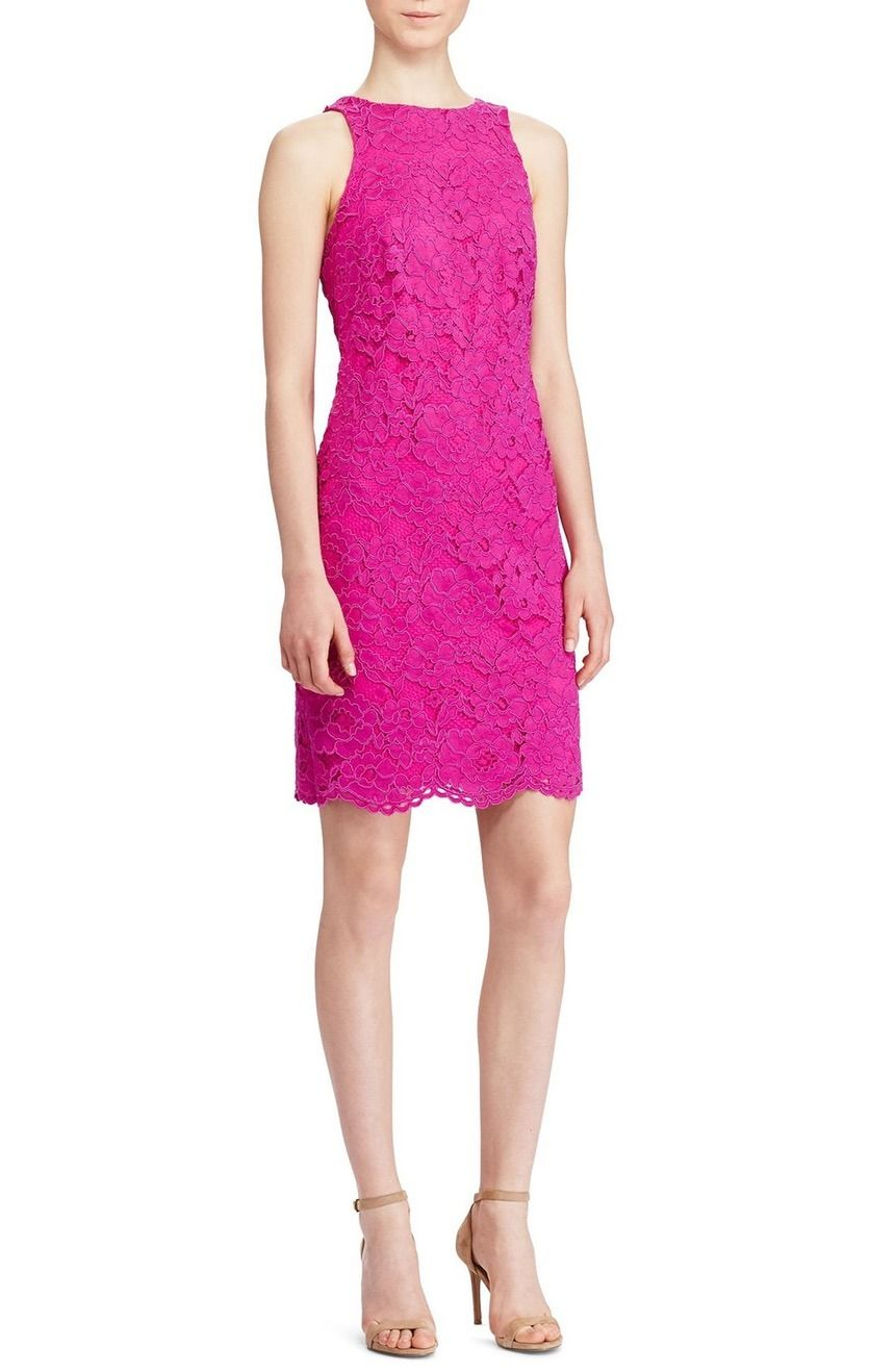 Currently crushing on this vibrant pink dress that adds a flirty and ...