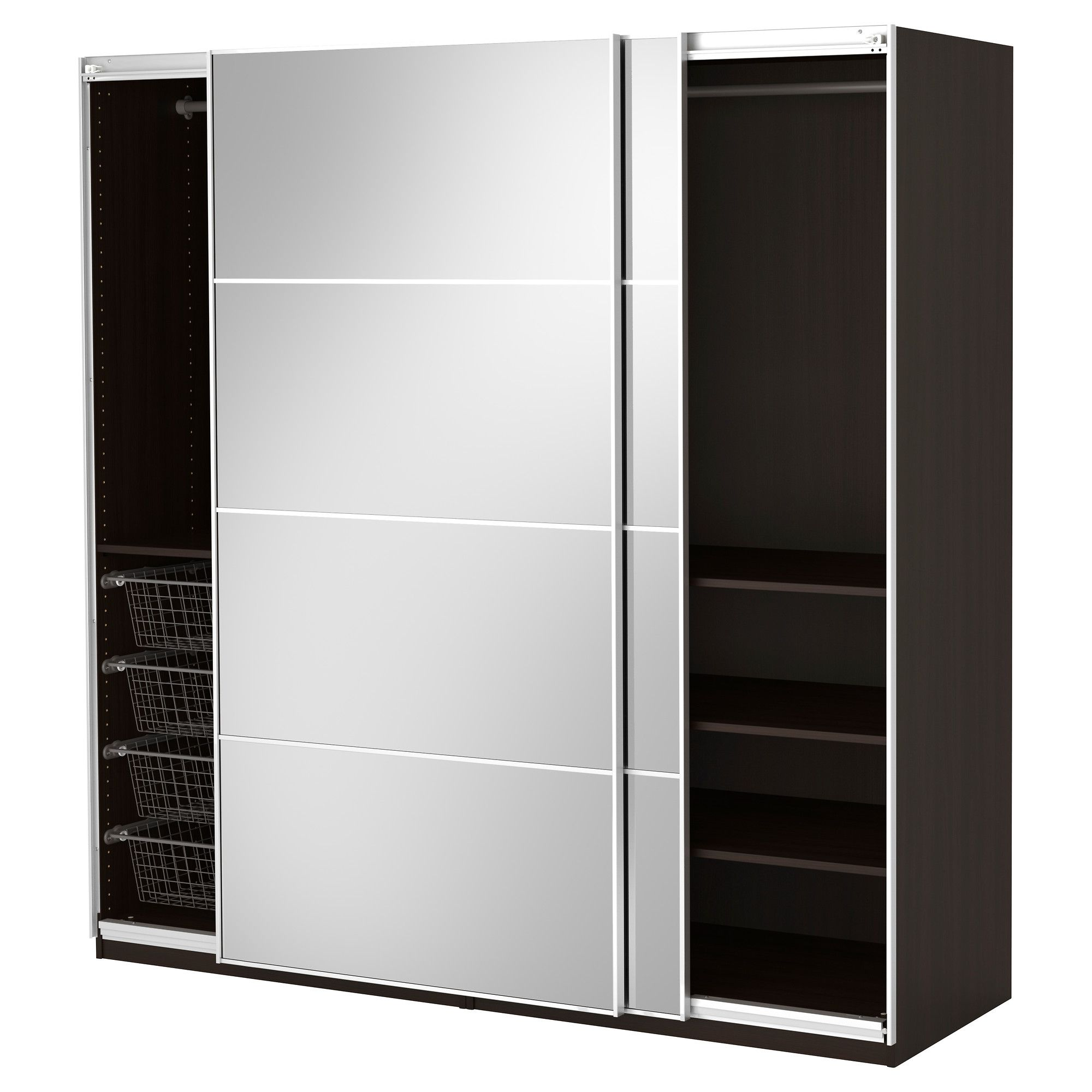 Ikea Hoekkast Pax Build Your Own Stand Alone Wardrobe Google Search Ikea Pax