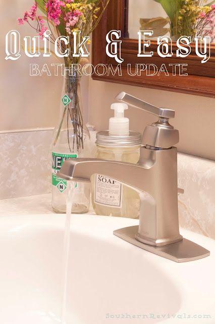 How To Install A Faucet Decor Ideas Diy Bathroom