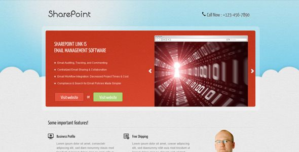 sharepoint page templates