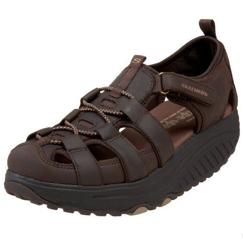 $51.94-$99.95 Skechers Women's Shape Ups - Trim Step Walking Sandal,Chocolate,8  · Ugly ShoesShoes MenFitness ...