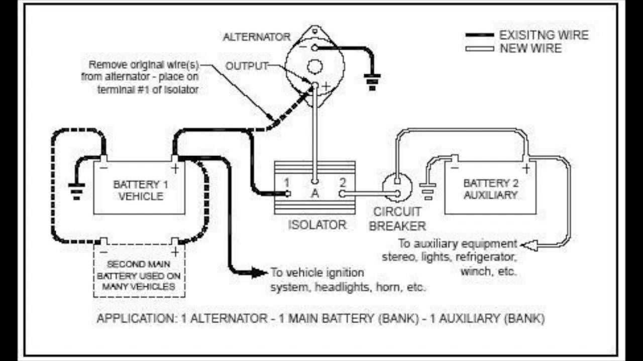 Battery Isolator 101 Youtube Battery Alternator Rv Battery