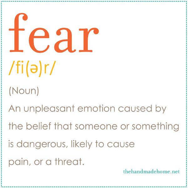 Definición #fear
