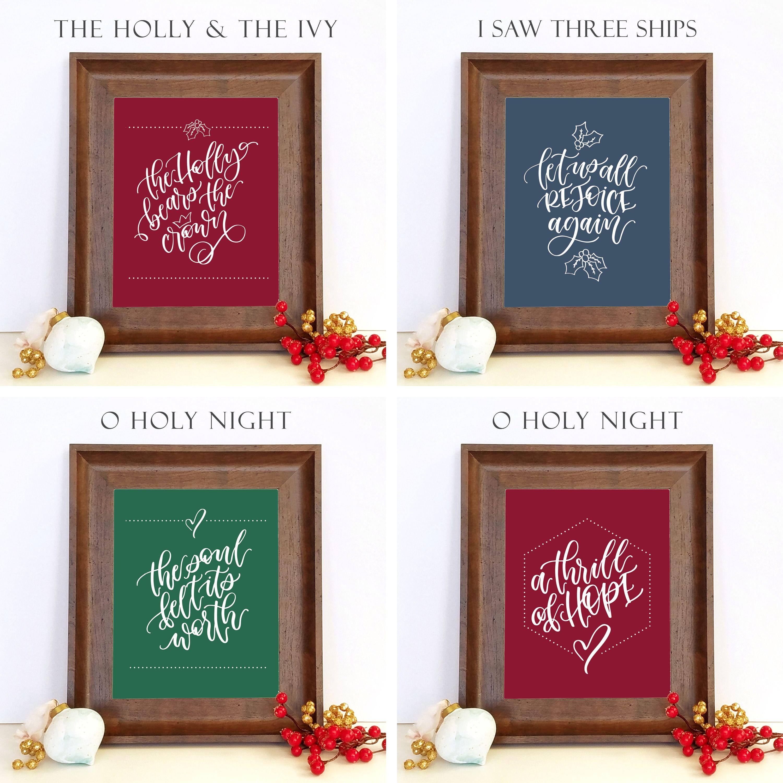 Christmas song lyrics, O Holy Night lyrics, I Saw Three