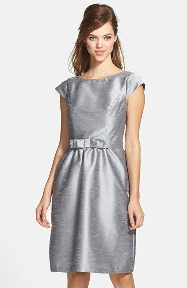 978e1a7a5cd Alfred Sung Woven Fit   Flare Dress available at  Nordstrom. Looks way  better in Navy.
