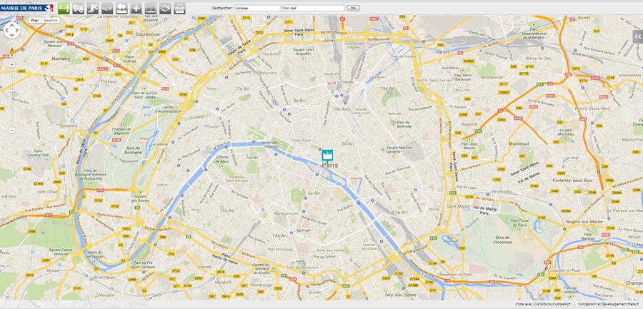 Plano de Paris – Mapa turistico y Aplicaciones Utiles http://