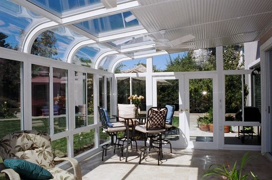 Click To Enlarge Solarium Patio Room Sunroom