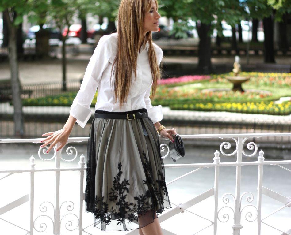 Perfect black skirt