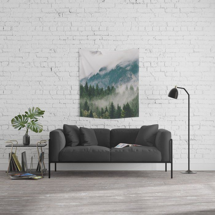 The Edge Apartments Vancouver: Vancouver Fog Wall Tapestry
