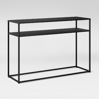 glasgow metal console table black project 62 in 2019 products rh pinterest com