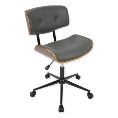 Superb Lumisource Lombardi Mid Century Modern Office Chair In Ncnpc Chair Design For Home Ncnpcorg