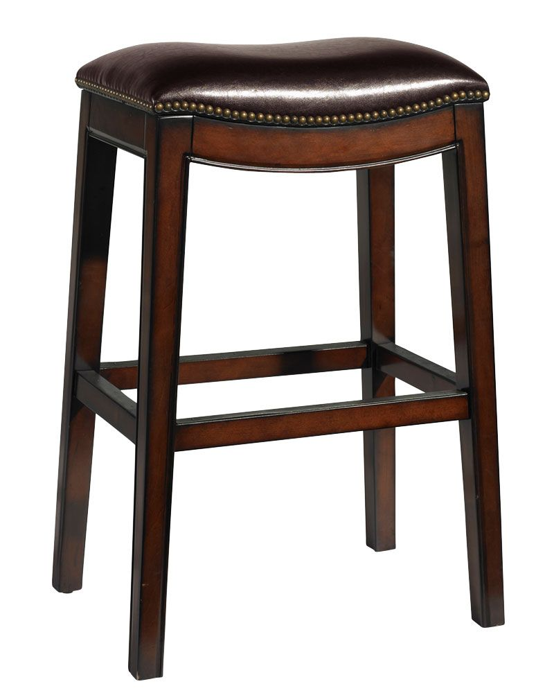 Love The Look Of This Saddleback Barstool With Nailheads Counter Height Stools Picket House Furnishings Upholstery Fabric For Chairs