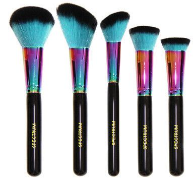 spectrum high quality siren sculpt makeup brushes kit