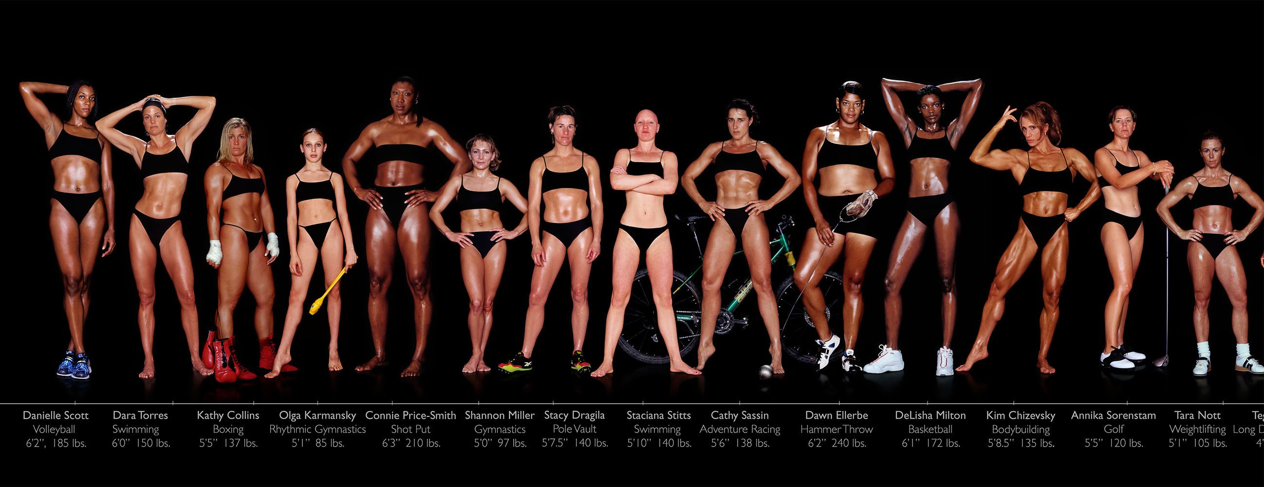 7b7150ae06 photos of female olympic athletes taken by Howard Shatz in 2002. There is  such a diversity of body types.