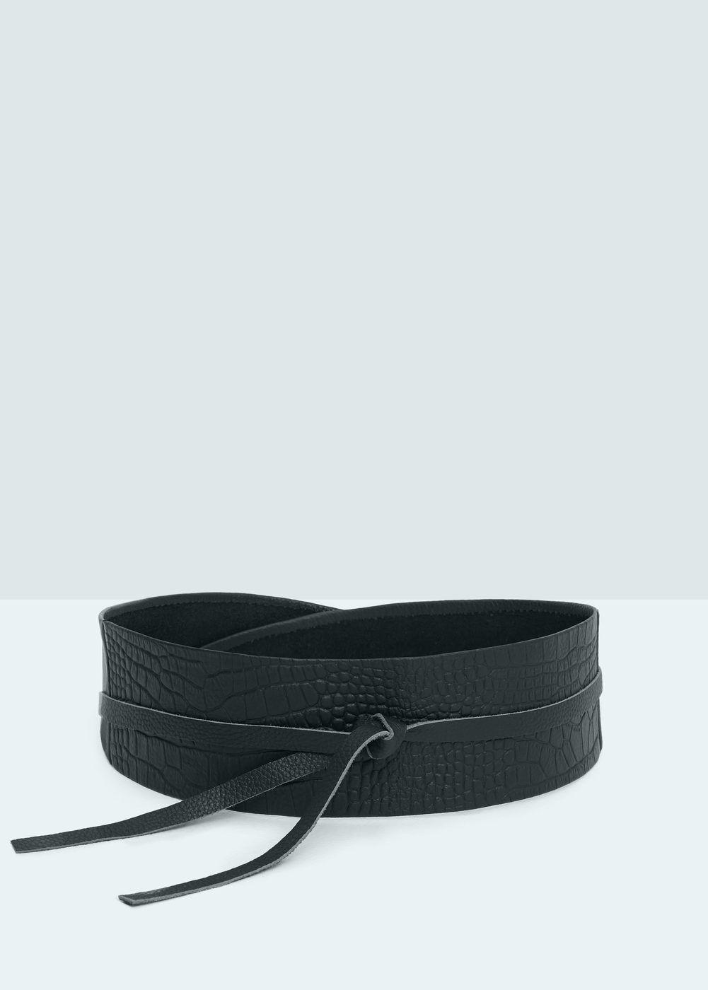 acquisto economico 94aac d91fb Cintura fusciacca pelle - Donna | Fusciacca | Obi belt, Belt ...