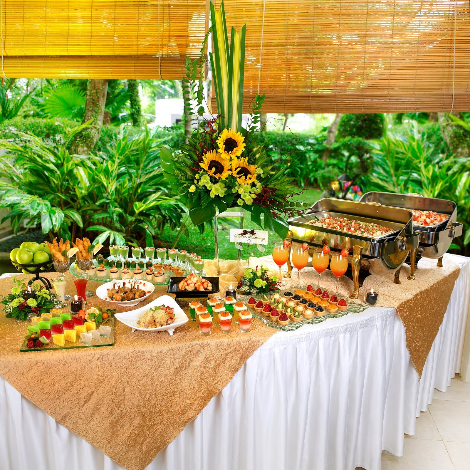 Beach Wedding Reception Food Ideas: Above - Photo Of Stamford Catering