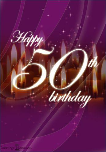 Google Image Result For Http Www Greetingsisland Com Images Ecards Birthday Happy 50th Bi Happy 50th Birthday Wishes 50th Birthday Wishes Happy 50th Birthday