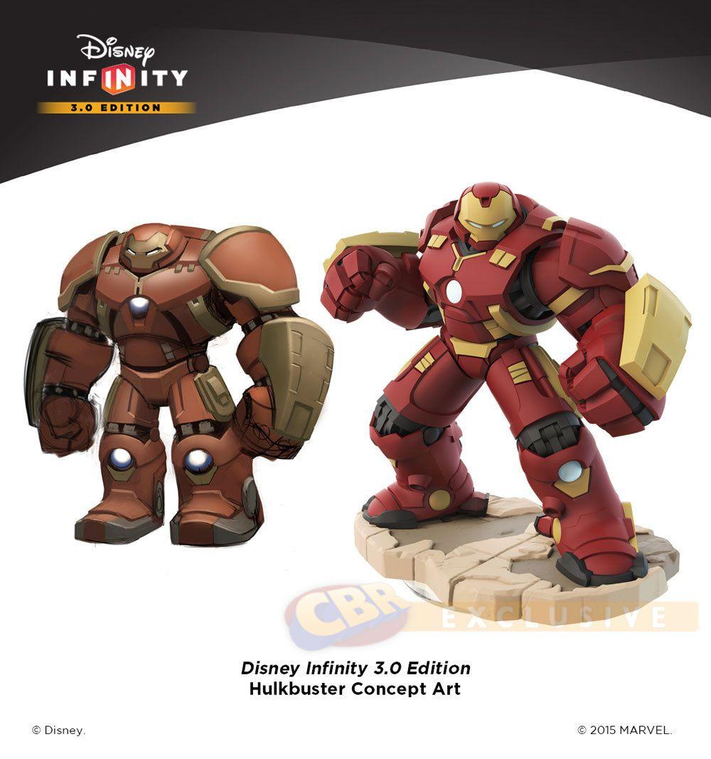 디즈니 인피니티 3.0 헐크버스터 공개 | Daum 루리웹