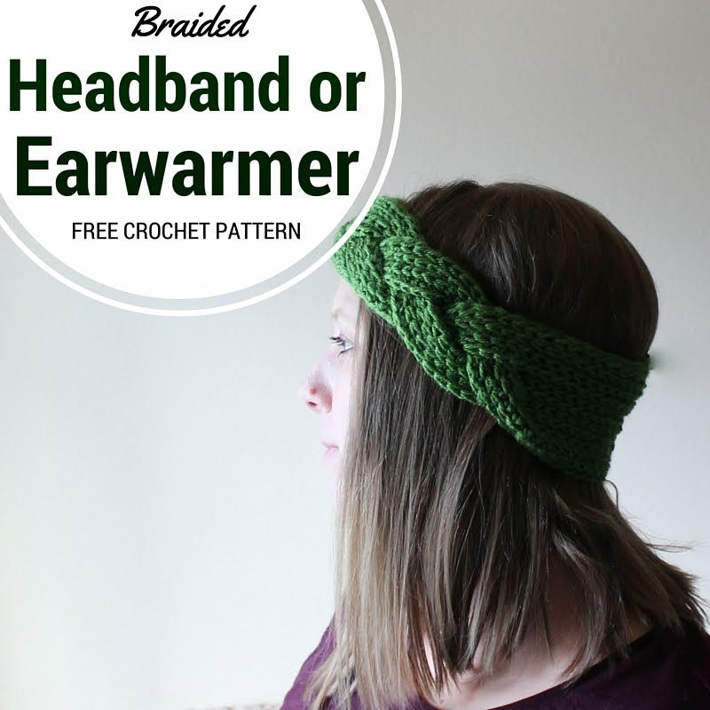 Learn to make the magic braid used in the Crochet Braided Headband ...