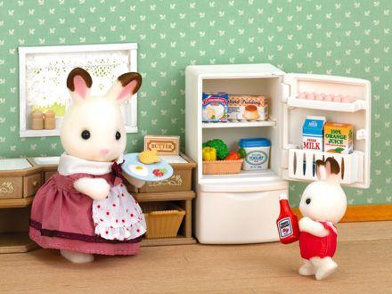 Kühlschrank Puppenhaus : Small foot puppenmöbel aus holz für die küche im puppenhaus