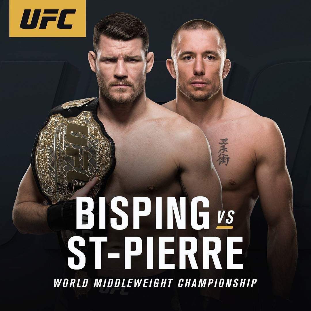 UFC Middleweight Champion Michael Bisping Is Officially
