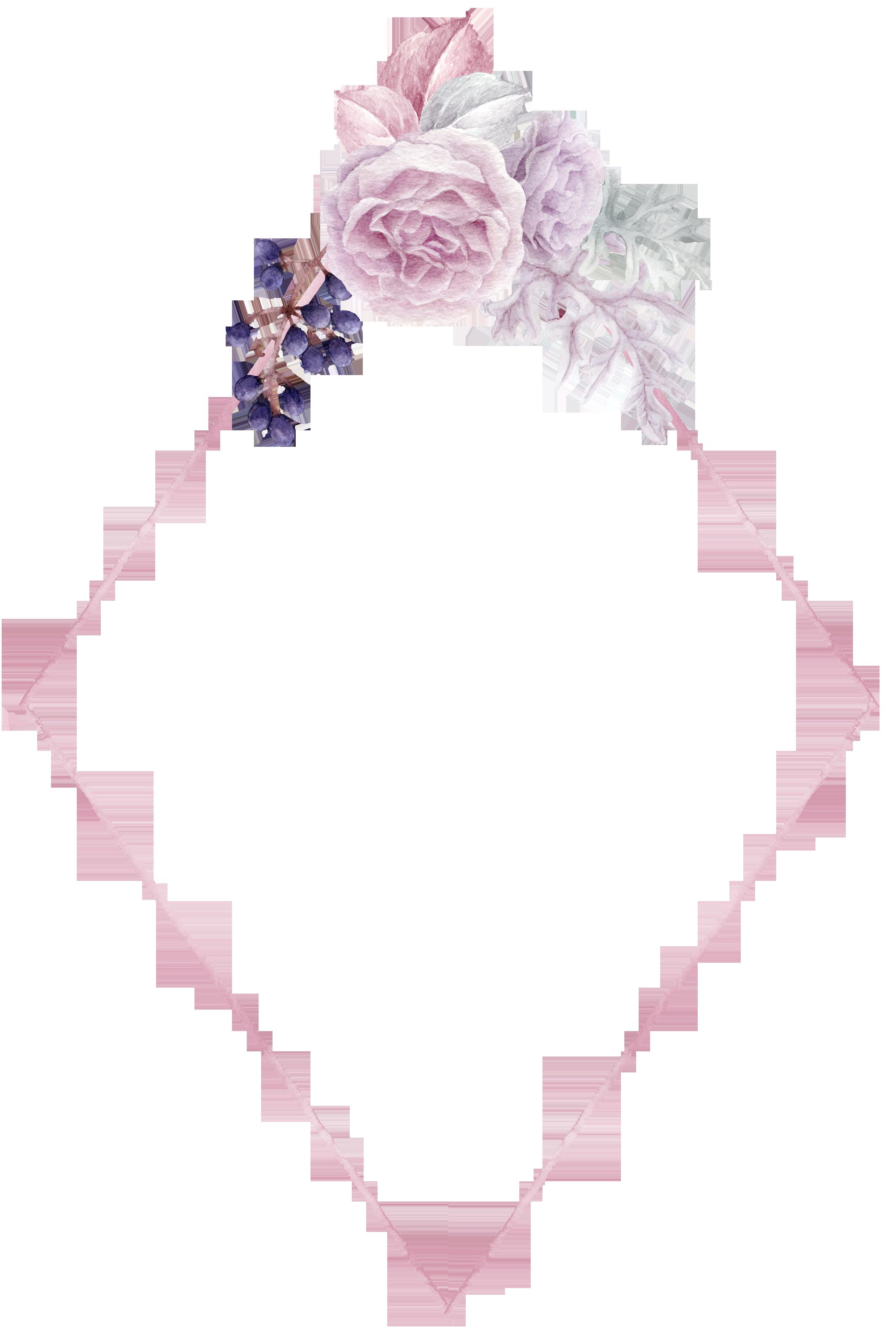 H972 22 Planos De Fundo Plano De Fundo Rosa Moldura Floral