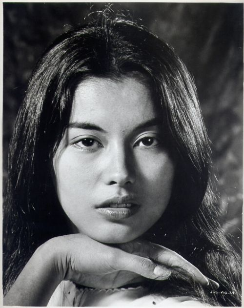 Straight Brows On Vietnamese Actress France Nuyen Circa -9147