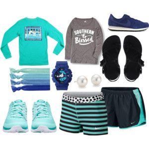 No Cardio, Just Running Errands | Taryn Scott Polyvore