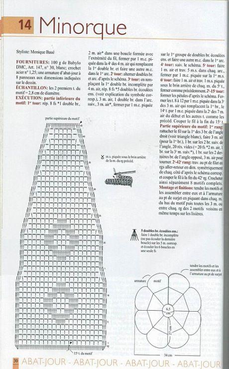 paralume  - Crochet con schemi - dainora33