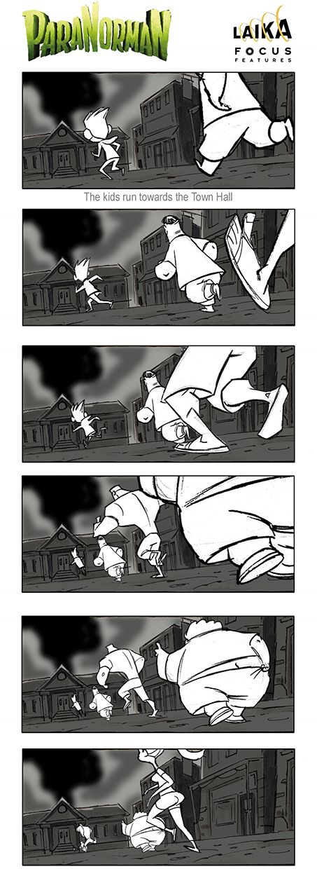 Laika Entertainment © Focus Features Some storyboard panel by Matt - sample script storyboard