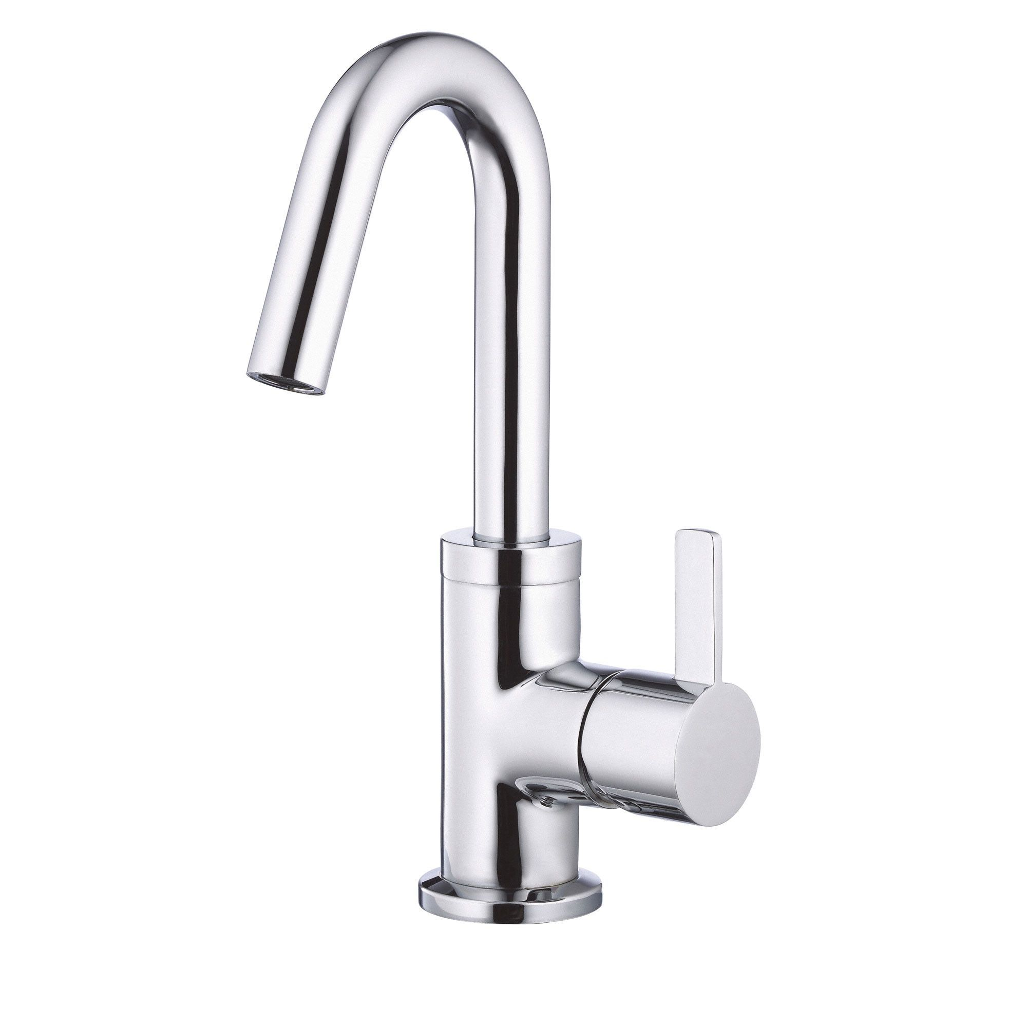 Danze Amalfi Chrome Single Handle Centerset Bathroom Faucet w ...