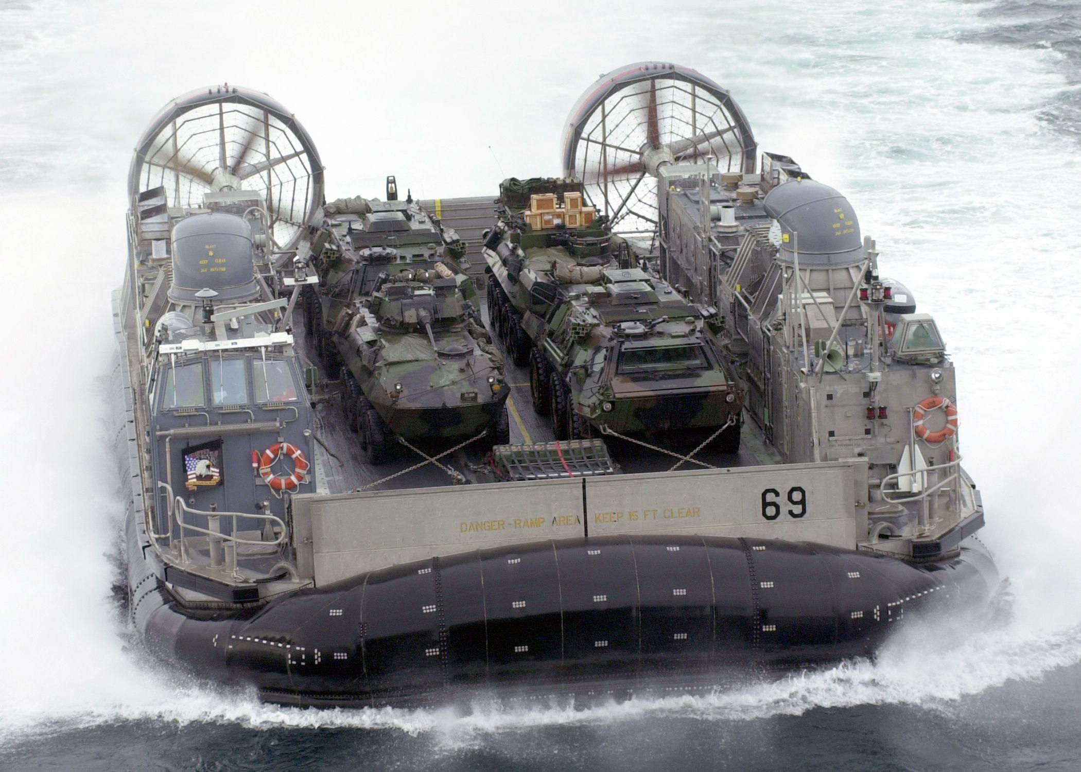 us navy 030113 n 2972r 114 a landing craft air cushion lcac vehicle