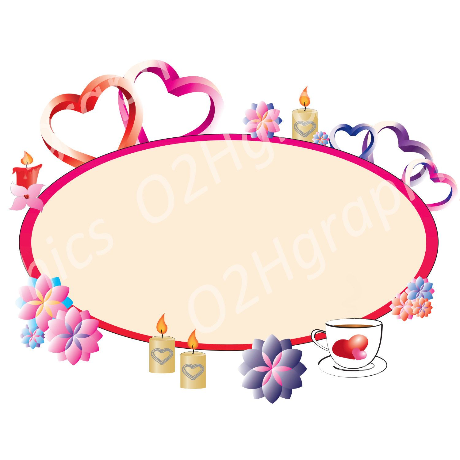 valentine s day card clipart clip art vector clipart digital rh pinterest com